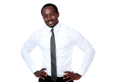 Portrait of african businessman Stock Photography