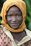 Portrait of the African girl. Stock Photography