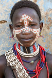 Portrait of the African girl. Stock Photos