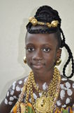 PORTRAIT OF AFRICAN GIRL Royalty Free Stock Image