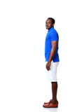 Portrait of african man standing Royalty Free Stock Photos