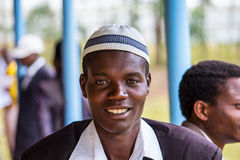 Portrait of an African Man royalty free stock image