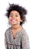 Portrait of African pre-school girl Royalty Free Stock Photo