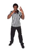 Portrait of african referee Royalty Free Stock Photo