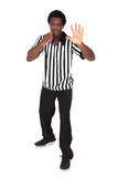 Portrait Of African Referee Stock Images