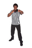 Portrait Of African Referee Stock Photo