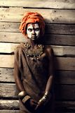 Portrait of african woman Royalty Free Stock Image