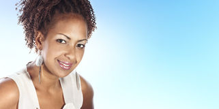 Portrait of a african woman Royalty Free Stock Photo