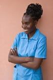 Portrait African woman Stock Photo