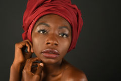 Portrait of African Woman Royalty Free Stock Photo