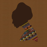 Portrait african woman Stock Images