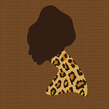 Portrait african woman Royalty Free Stock Photography