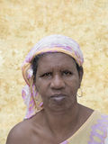 Portrait of an African woman, sixty years old Stock Photo