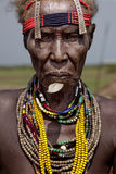 Portrait of the African woman. Royalty Free Stock Photo