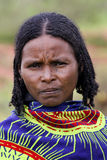 Portrait of the African woman. Stock Image