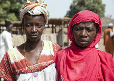 Portrait of 2 african women Royalty Free Stock Photo