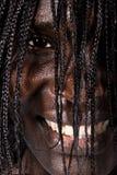 Portrait-Afrikanerfrau Stockfoto