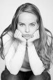 Portrait alésé photographie stock libre de droits