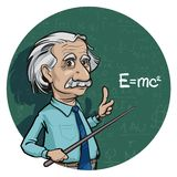 Portrait of Albert Einstein. Vector illustration. Editorial use only. Portrait of scientist Albert Einstein. Vector illustration .eps 10. Editorial use only vector illustration