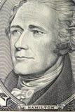 Portrait Alexander-Hamilton lizenzfreie stockfotos
