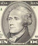 Portrait Alexander-Hamilton Stockbild