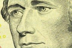 Portrait of Alexander Hamilton Stock Images