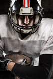 Portrait of american football player Royalty Free Stock Image