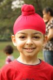 Portrait of a american sikh child Stock Photography