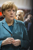 Portrait of Angela Merkel chancellor of Germany Royalty Free Stock Photography