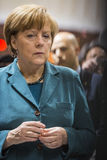Portrait of Angela Merkel chancellor of Germany Stock Photography