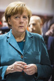 Portrait of Angela Merkel chancellor of Germany Royalty Free Stock Photos