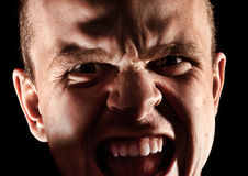 Portrait of angry man Royalty Free Stock Photo