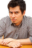 Portrait of angry young man Royalty Free Stock Photography
