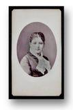 Portrait antique de Madame Photo stock