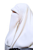 The portrait of Arab against the white background Royalty Free Stock Images