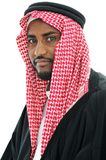 Portrait of arabic man, Sheikh Royalty Free Stock Images