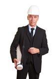 Portrait of an architect Stock Photo