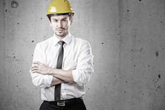 Portrait of an architect with arms crossed Royalty Free Stock Photos