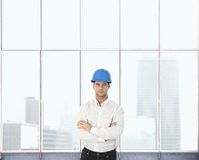 Portrait of architect designer Stock Photos
