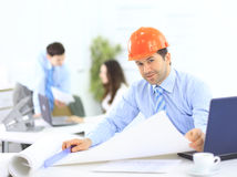 Portrait of an architect Stock Photography