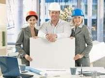 Portrait of architect team Stock Photography