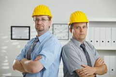 Portrait of architects Stock Image