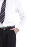 Portrait Asia businessman Stock Photography