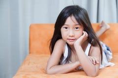 Portrait Asia Girl. Stock Image