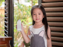 portrait of Asian adorable little girl Royalty Free Stock Photo