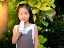 portrait of Asian adorable little girl  Stock Photo