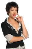 Portrait of Asian American Businesswoman Stock Photo