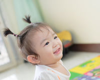 Portrait of asian baby girl Stock Image