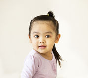 Portrait of Asian baby Royalty Free Stock Photo