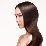 Portrait of asian brunette girl Royalty Free Stock Image